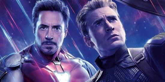 Captain America and Iron Man Avengers