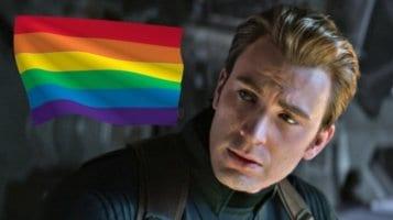 "Chris Evans denounces ""Straight Pride"""