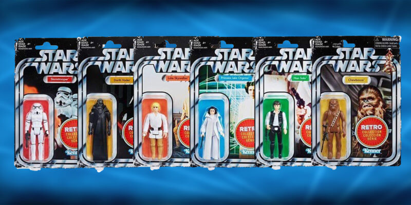 Star Wars Retro Figures