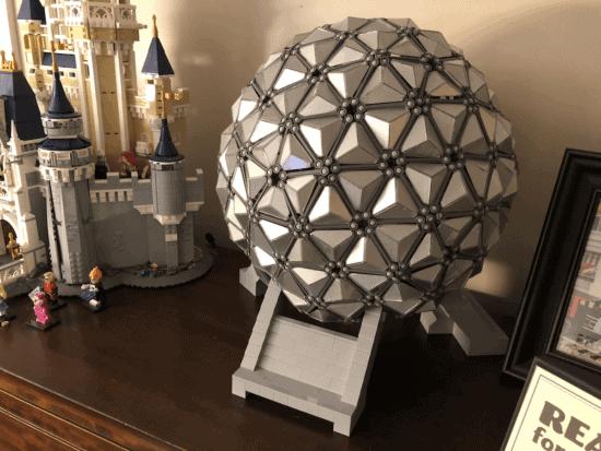 LEGO Spaceship Earth