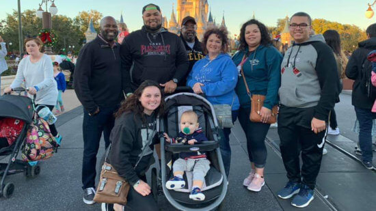 Tuckett family at Walt Disney World