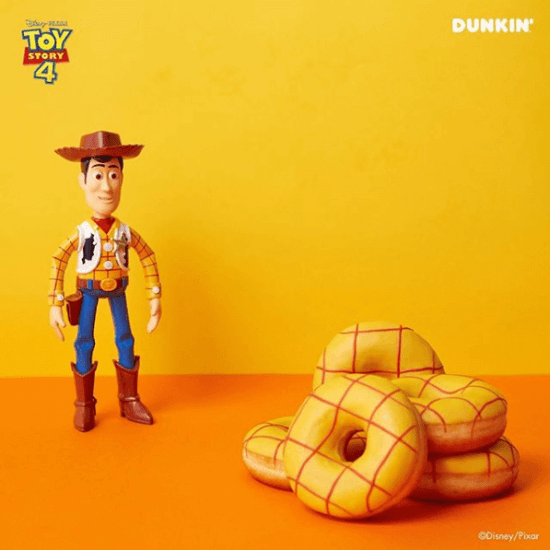 Toy Story Dunkin Donuts