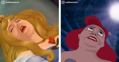 Disney princesses as normal people