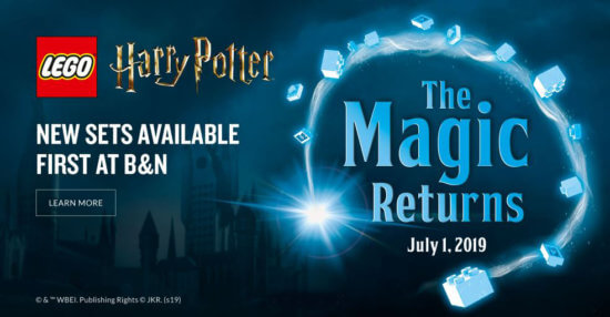The Magic Returns: Barnes & Noble LEGO Harry Potter collection