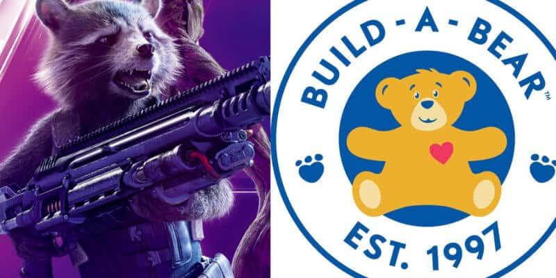 Rocket Raccoon and Build-A-Bear