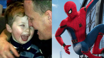 Ollie and Lloyd Jones and Spider-Man