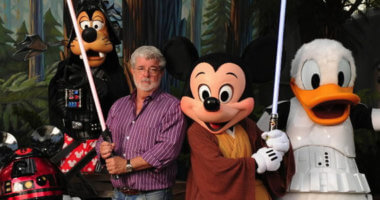 george-lucas-and-disney-characters