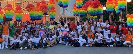 Magical Pride parade