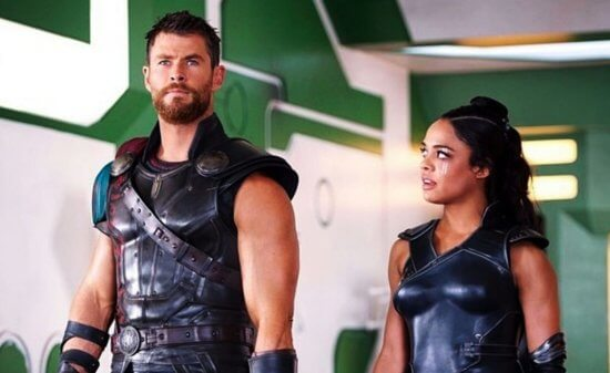 Thor and Valkyrie Marvel