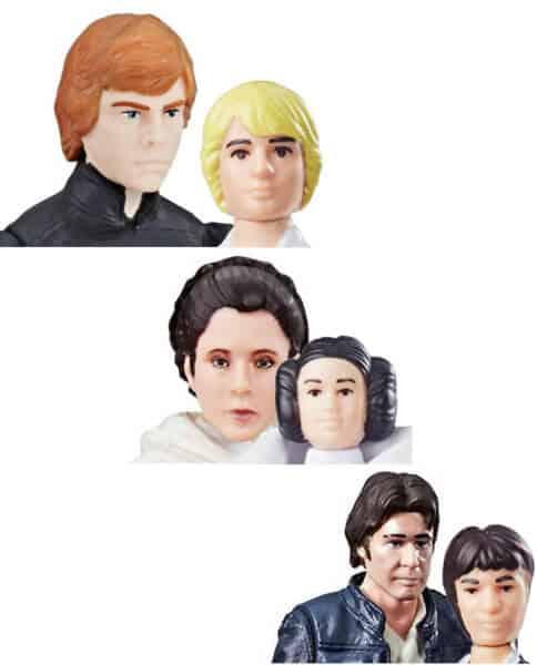 Star Wars face sculpt comparisons