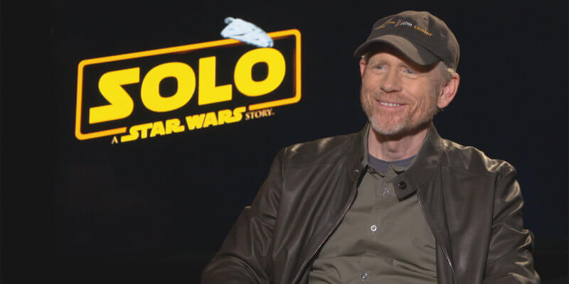 """Ron Howard on """"Solo: A Star Wars Story"""""""