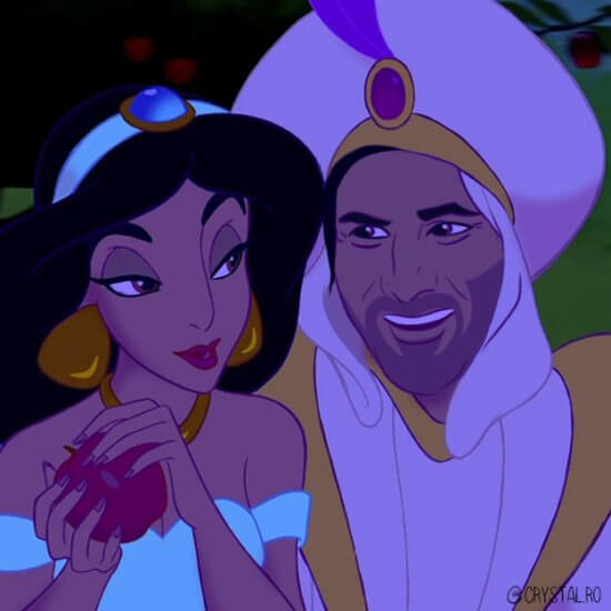 Keanu Reeves as Aladdin
