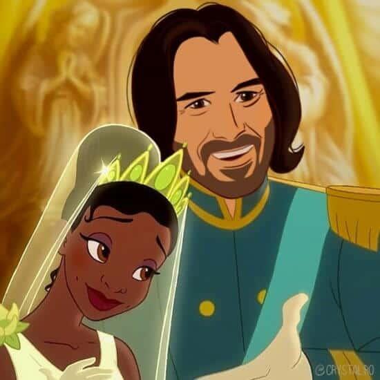 Keanu Reeves as Prince Naveen