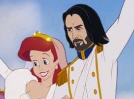 Keanu Reeves as Prince Eric