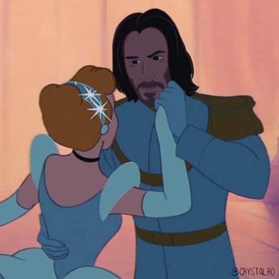 Keanu Reeves as Prince Charming