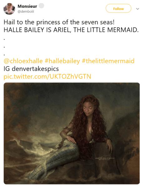 Little Mermaid fan art