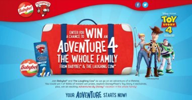 Babybel & Adventures by Disney Sweepstakes