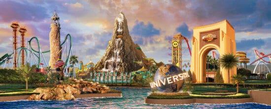 Universal Studios Mystery Logo existing parks