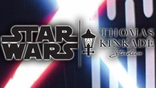 Star Wars & Thomas Kinkade Studios