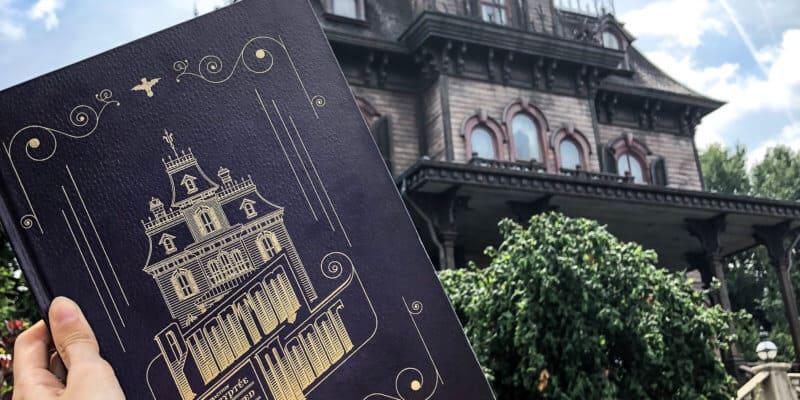 Phantom Manor book available at Disneyland Paris