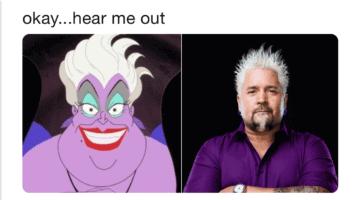 Guy Fieri as Ursula