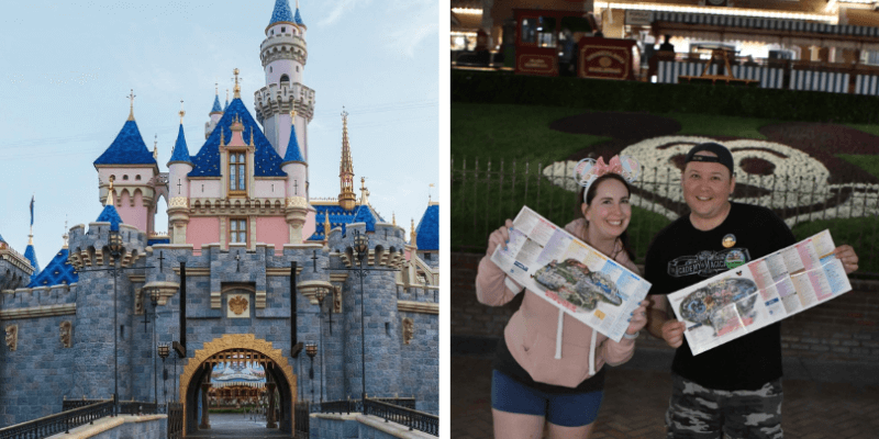 Couple rides every Disneyland attraction in one day