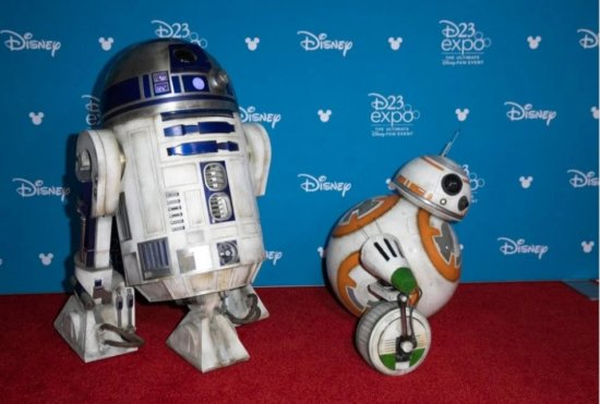 R2D2 and BB-8