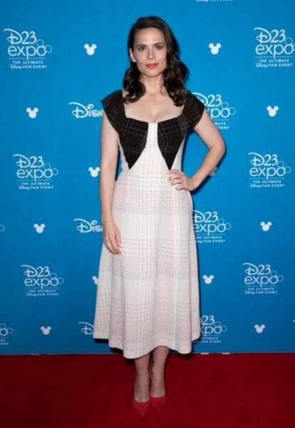 Hayley Atwell D23 Expo