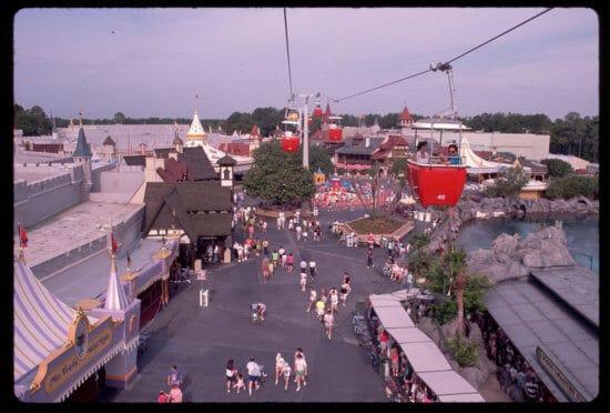 Magic Kingdom Skyway 1990