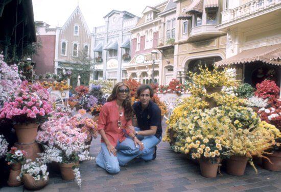 Disneyland Flower Market 1955