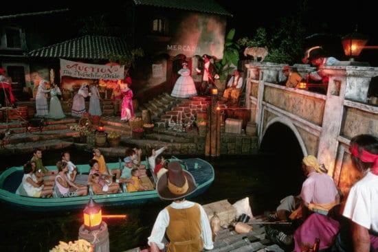 Disneyland Pirates of the Caribbean 1969