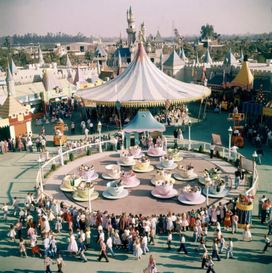 Disneyland Mad Tea Party 1955