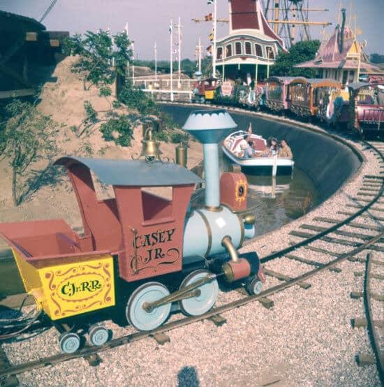 Disneyland Casey Jr. Circus Train 1955