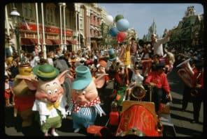 Main Street U.S.A. Magic Kingdom 1972