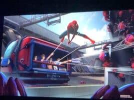 Avengers Campus Spider Man Attraction