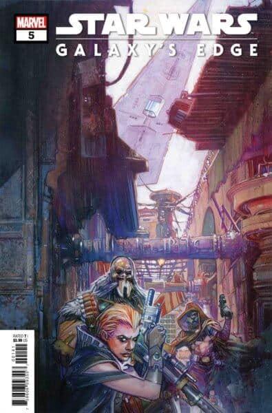 five-part Marvel series Galaxy's Edge