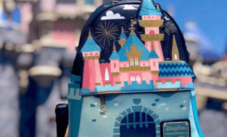 Disneyland castle loungefly
