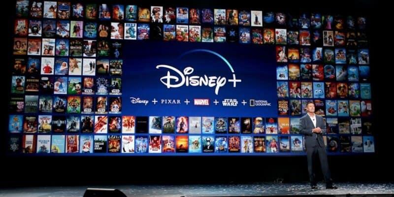Disney+mobile app download numbers