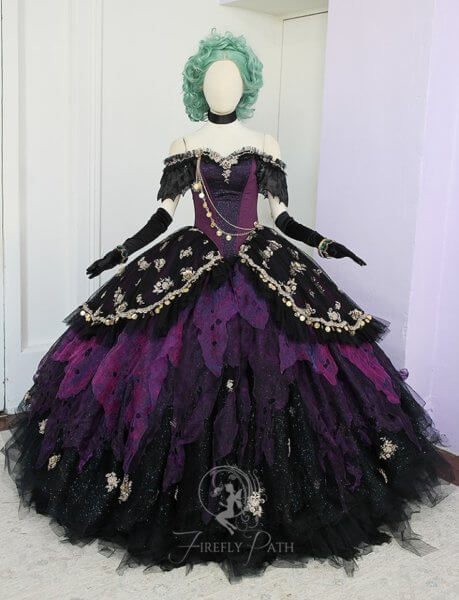 Madame Leota Gown full front