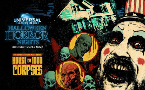 HHN House of 1000 corpses
