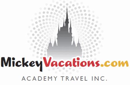 Academy Travel Mickey Vacations