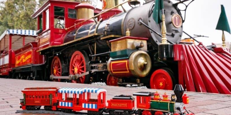 Lego Disney train