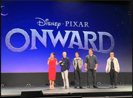 Onward panel at D23 Expo 2019
