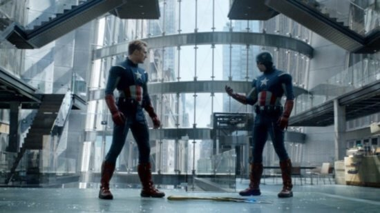 Two captain americas