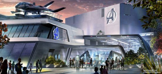 Avengers Headquarters concept art