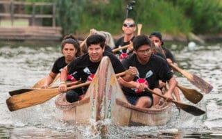 Disneyland canoe races
