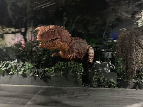 Carnotaurus with the lights on