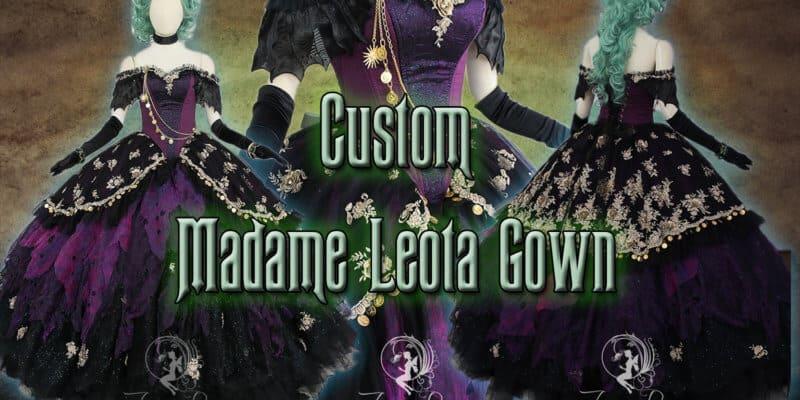 Custom Madam Leota Gown
