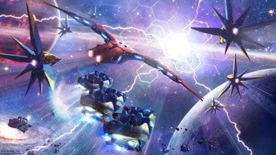 Cosmic Rewind concept art
