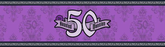 50th anniversary Haunted Mansion